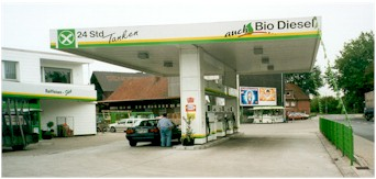 Reifeisen-Tankstelle in Bottrop-Kirchellen